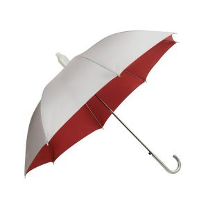 ″ Silver Lining Umbrella with Plastic Cover