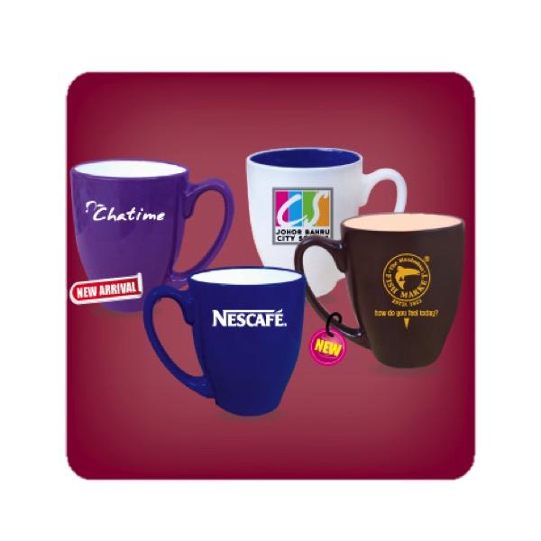 Colored Oval Mug N