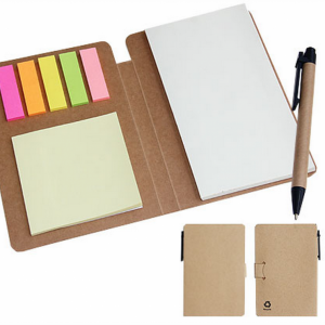 ECO Note Pad with Pen