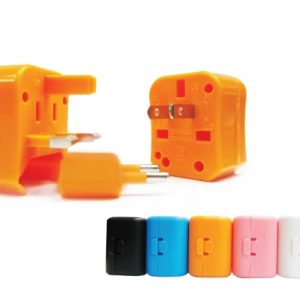 Colourful Travel Adapter