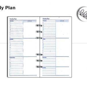 Weekly Plan 575
