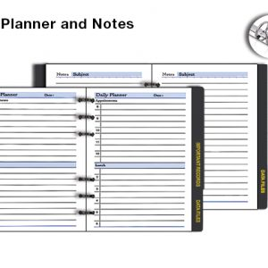 Daily Planner & Notes 591