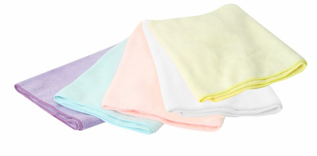 Microfiber Face Towel with white colorS