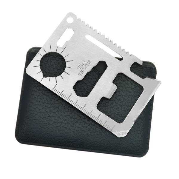 Multi Tool Card with PVC Pouch