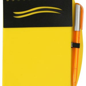 PP Notebook with Pen BG A yellow