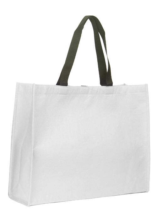 Wool Felt Bag GP White