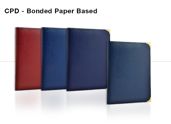CPD - Bonded Paper Based Diary