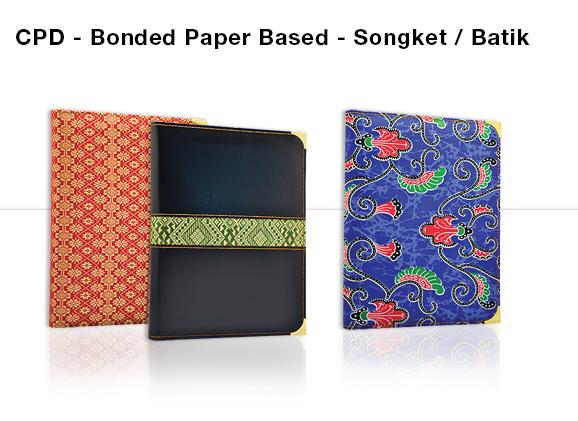 CPD - Bonded Paper Based Songket/Batik Diary