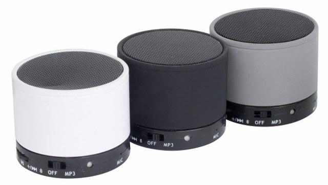 Mini Bluetooth Speaker white black grey